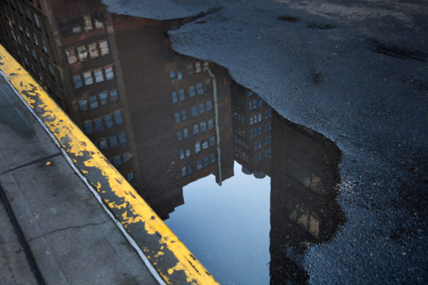 Street reflection NYC